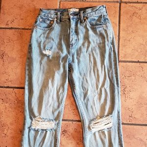Free People Boyfriend Jeans Size 26